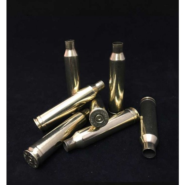 7mm WSM Brass Cartridge Cases (8) - Once Fired