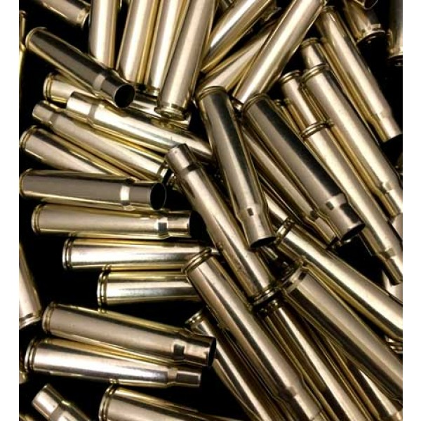 8mm Mauser (8x57 JS) Brass Cartridge Cases (20) - Once Fired Prvi Partzan  (PPU) Headstamps