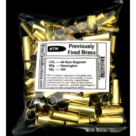 44 Rem Magnum Cases to reload with Remington head stamps